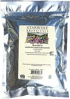 Starwest Botanicals Chicory Root Roasted Granules Organic 1 lb