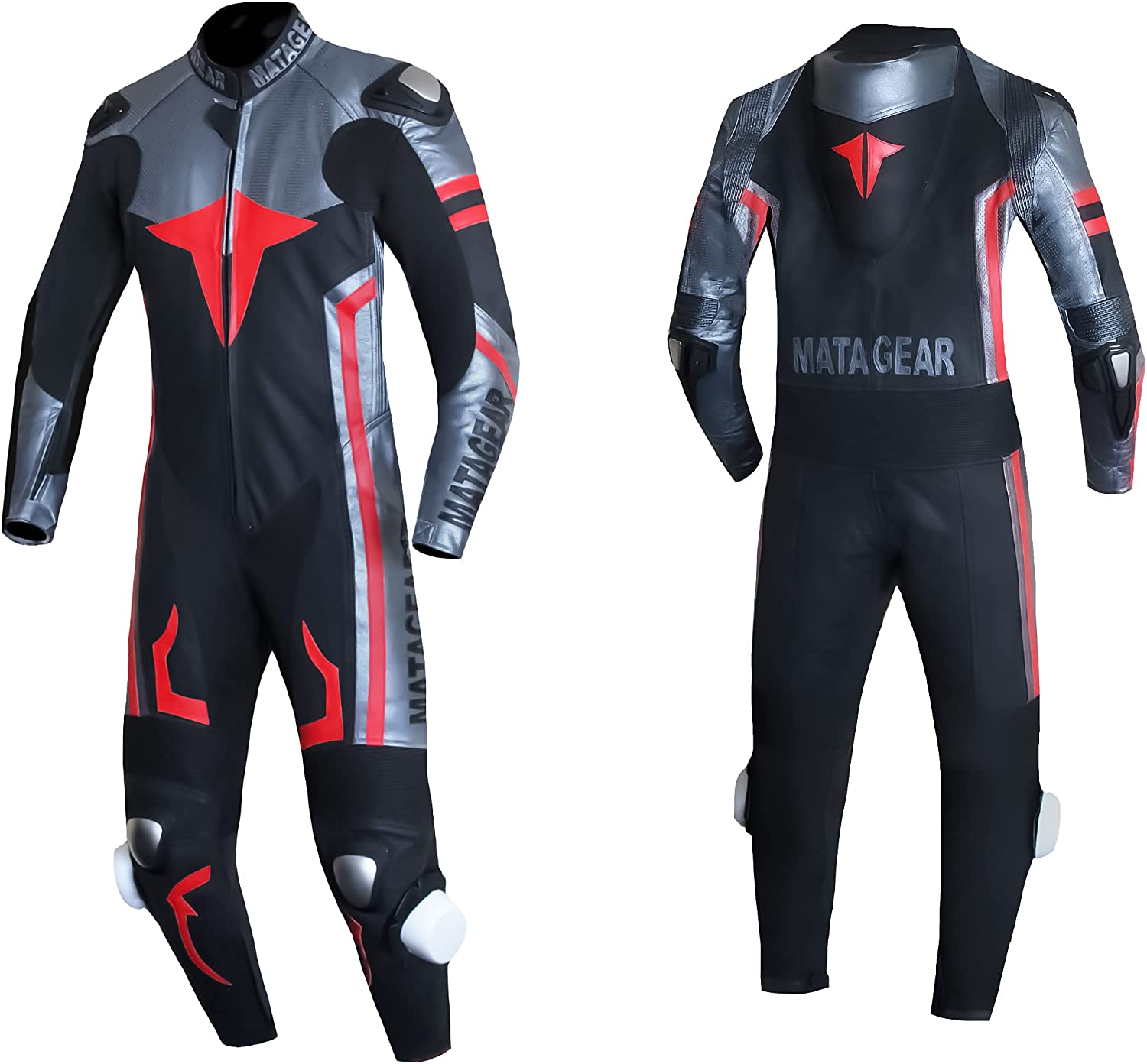 Motorcycle New 396 One Piece Trust Leather CE Black gift Suit Racing Track