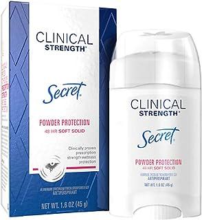 Secret/シークレット クリニカル Clinical Strength デオドラント, Soft Solid,1.6oz/45g(国内出荷配送、並行輸入品) (パウダープロテクション)