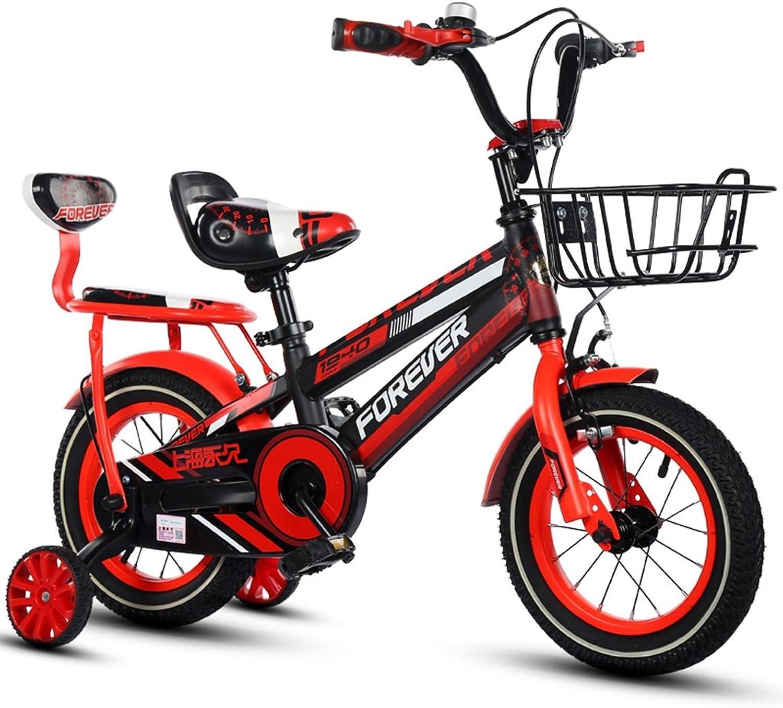 alta calidad y envío rápido LiuJF-Fitness Equipment Bicicleta Creativa, Niño niña Pedal Bicicleta Bicicleta Bicicleta Infantil Bicicleta Individual 2-12 años bebé con Ruedas auxiliares Bicicleta 88-121cm  Para tu estilo de juego a los precios más baratos.