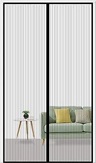 Rideau Moustiquaire Store Moustiquaire Facile /à Installer pour Porte d Entr/ée Int/érieur//Patio 39x79inch Aibingbao Moustiquaire Porte Fenetre Magnetique 100x200cm Blanc