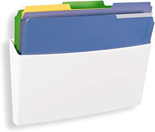 GlasMag Magnetic File Holder Tray. Powerful Neodymium Magnets Hold 200+ Sheets of Paper to Glass Whiteboards or Any Other ...