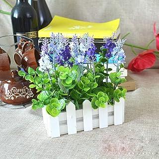 Gardening, Wooden Flower Planter Fence Storage Holder Pot with Foam, Pointed Head Gardening Supplies (Size : Round Head)