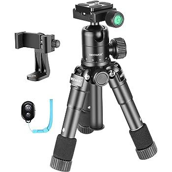 Max Load Aosituop Tripods Mini Pocket Metal Desktop Tripod Mount with 1//4 inch Screw for DSLR /& Digital Cameras 10kg