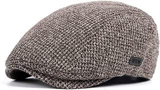 LOKIDVE Men's Newsboy Ivy Hat Cotton Gatsby Golf Beret Driving Flat Cap