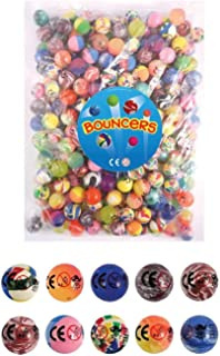 Bouncy Balls - Pack of 20 - Party Bag filler - 27mm bouncy ball by The Toys & Games Store