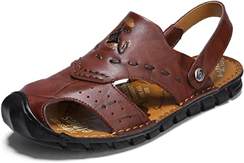 DANDANJIE Sandales d'été de Sandales de Confort d'été de l'eau pour la Robe extérieure décontractée
