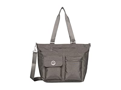 Baggallini Hong Kong Laptop Tote (Sterling Shimmer) Handbags