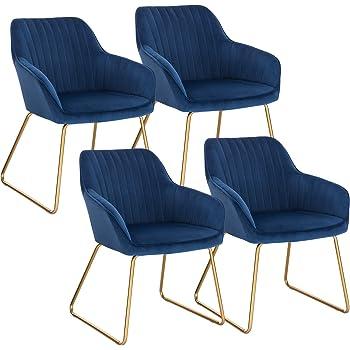 WOLTU Esszimmerstühle BH246bl 2 2er Set Küchenstuhl