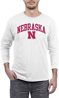 Elite Fan Shop NCAA Men's Long Sleeve Shirt White Arch