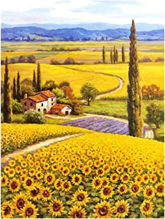 Puzzlelife ] Sunflower Field 2   1000 Piece Jigsaw Puzzle