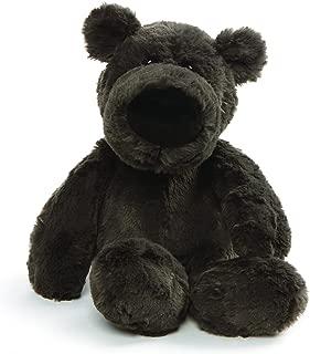 GUND Henry Teddy Bear Stuffed Animal Plush, Dark Gray, 12