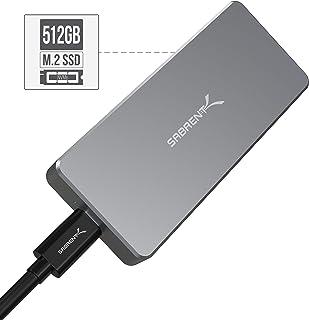 Sabrent Rocket Pro 512GB Nvme USB 3.1 External Aluminum SSD (SB-512-NVME)
