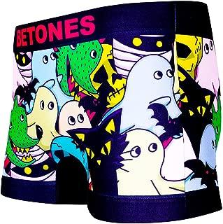 BETONES (ビトーンズ) メンズ ボクサーパンツ CAPER dwearsステッカー入り ローライズ アンダーウェア 無地 ブランド 男性 下着 誕生日 プレゼント