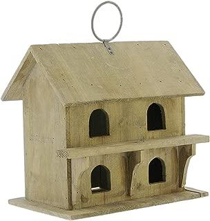Primitive Wooden Sparrow's Birdhouse, 11