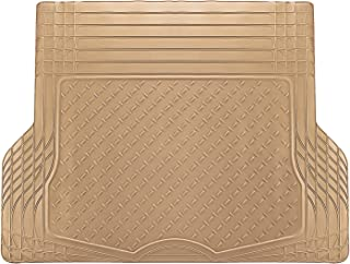 OxGord WeatherShield HD Rubber Trunk Cargo Liner Floor Mat, Trim-to-Fit for Car, SUV, Van, Trucks Beige