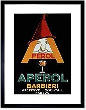 The Art Stop AD APEROL Aperitif Alcohol Italy Framed Print F12X3070