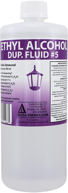 Duda Energy eth950 950 mL Max 68% OFF Bottle of 200-P Nashville-Davidson Mall Ethanol with Denatured