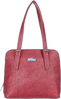 Janta PU Leather Women Shoulder Bag (Orange-3202)