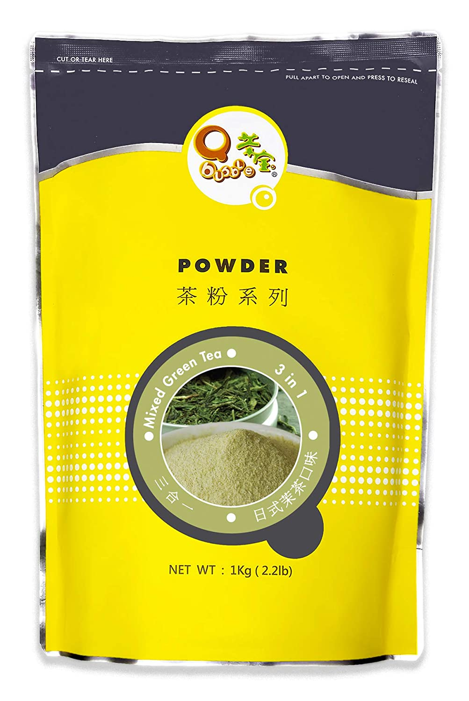 Qbubble Gorgeous Japanese Tampa Mall Green Tea Powder 2.2 Pound