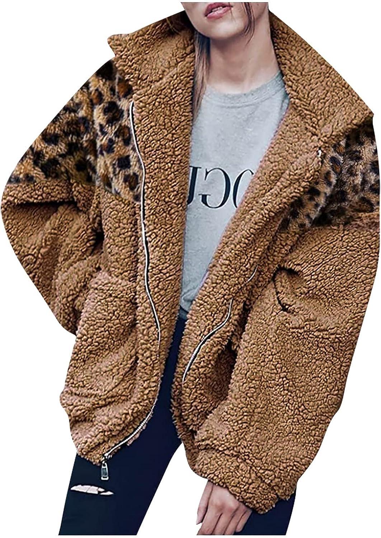 Muxing Women Warm Long Sleeve Faux Fur Coat Overcoat Fluffy Top