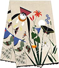 Charley Harper Meadow Dishtowel by Todd Oldham