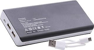 vhbw Powerbank 20,800 mAh mobilladdare 2-port med 2 ampere-utgångar mikro-USB för spelare och smarttelefoner från Samsung,...