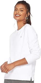 Tommy Hilfiger Women's WW0WW22901-White Sweatshirts