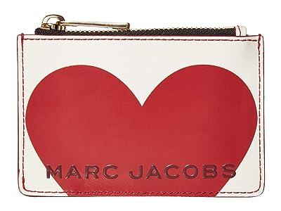 Marc Jacobs Vday The Box Top Zip Multi Wallet (Cotton Multi) Wallet Handbags