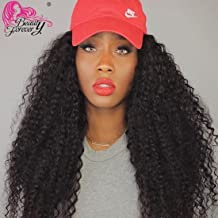 Beauty Forever Hair 8A Malaysian Virgin Curly Hair Weave 1piece Bundle 100% Unprocessed Human Virgin Remy Hair Extensions Dyeable Hair Bundle Deals Natural Color 95-100g (22 inch)