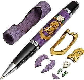 Purple Heart Laser-Cut Inlay Pen Kit Blank