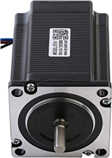RTELLIGENT Nema 23 Stepper Motor Stepping 2.8A 1.8Deg 1.3Nm/184.14oz-in 6.35mm Shaft Low Noise for Laser/CNC Machine