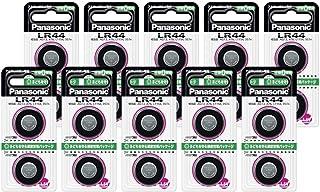 パナソニック アルカリボタン電池 LR44/2P × 10セット (計20電池)