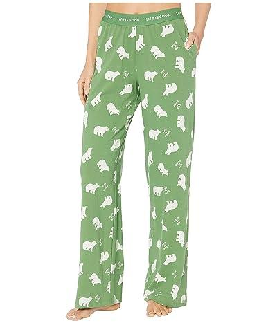 Life is Good Snuggle Up Sleep Pants (Fresh Pine) Women