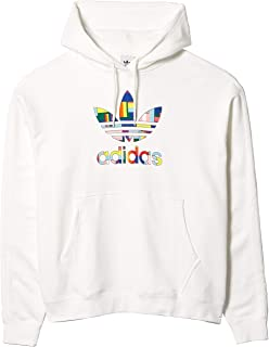 adidas Originals Men's Pride Flag Fill Hoodie Sweatshirt