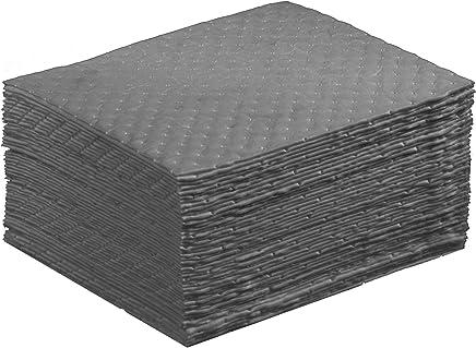 "ESP 1AMGPL Airmatrix Polypropylene Heavy Weight Maintenance Universal Absorbent Laminated Pad, 18"" Length x 16"" Width, Gray (100 Per Bale)"