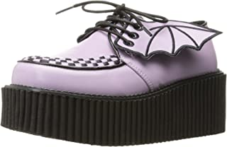 : creepers femme Demonia : Chaussures et Sacs