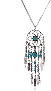 native american dream catcher necklace