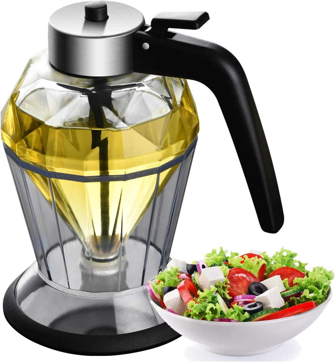 POL PARKMAN Olive Oil Dispenser Glass Lead-Free Max 75% OFF Honey Manufacturer direct delivery Diluted S