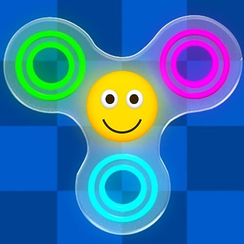 Fidget Spinner Toy Emoji - Stres Çarkı