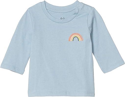 Dusty Blue/Sketchy Rainbow