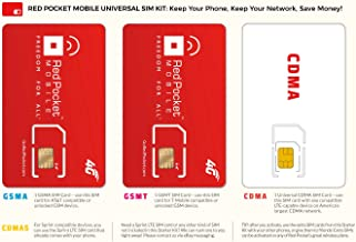 Best activate red pocket sim card Reviews