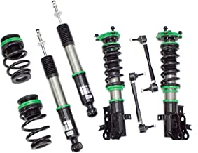 Rev9 R9-HS2-012_1 Hyper-Street II Coilover Suspension Lowering Kit, Mono-Tube Shock w/ 32 Click Rebound Setting, Full Length Adjustable