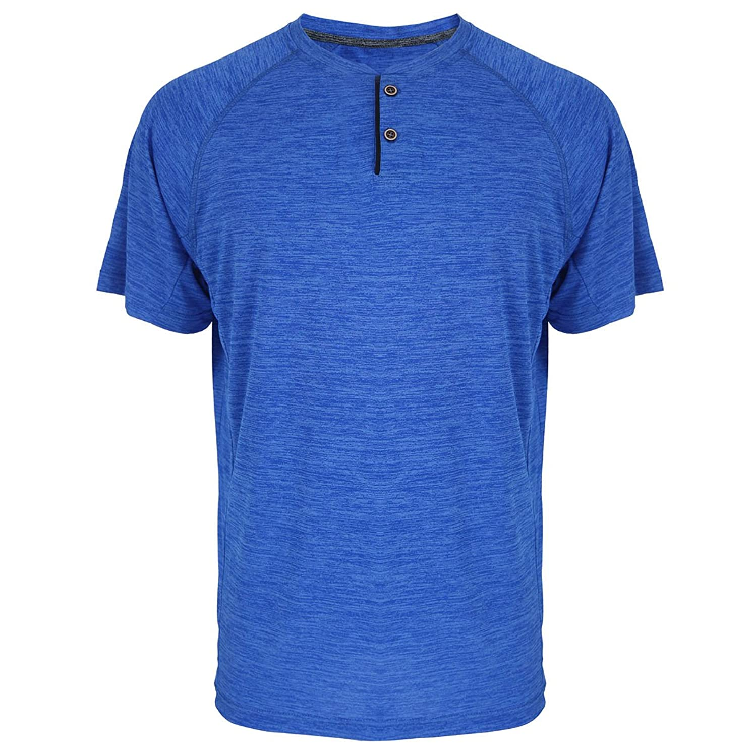 Sports T-Shirts for Men Quick Dry Wicking Workout Athletic Running Training Tee Active Tops Sportswear
