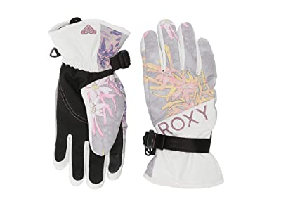 Roxy Jetty Snow Gloves (Micro Chip Edelweiss) Ski Gloves