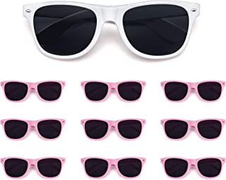 10 Pack Bulk Wholesale Party Sunglasses supplies,Perfect Novelty Party Favor for women men