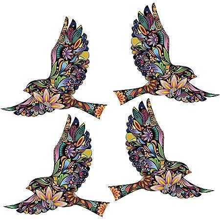 Decal Sticker Wall Decal Wall Sticker Decor Birds Flowers Bird Kitchen Furniture