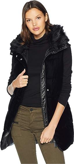 Vest w/ Combo Velvet Front Poly Nylon Back