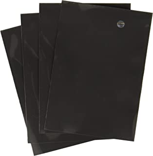 Ultra Pro Card Supplies Deck Protector Sleeves, Black, 180 Count