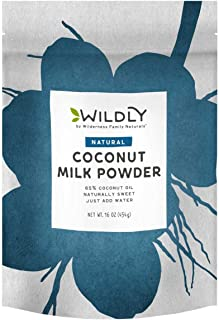 Wilderness Family Naturals, Conventional Coconut Milk Powder - Rich and Smooth, 1 Pound